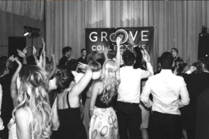 Groove Collective live wedding crowd