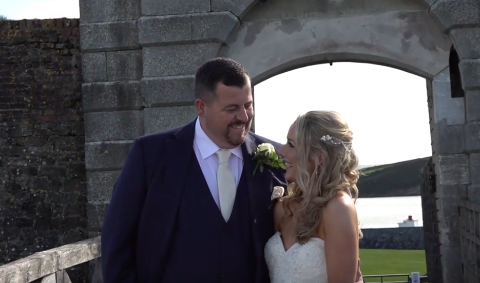 Wedding Video Cork couple shot